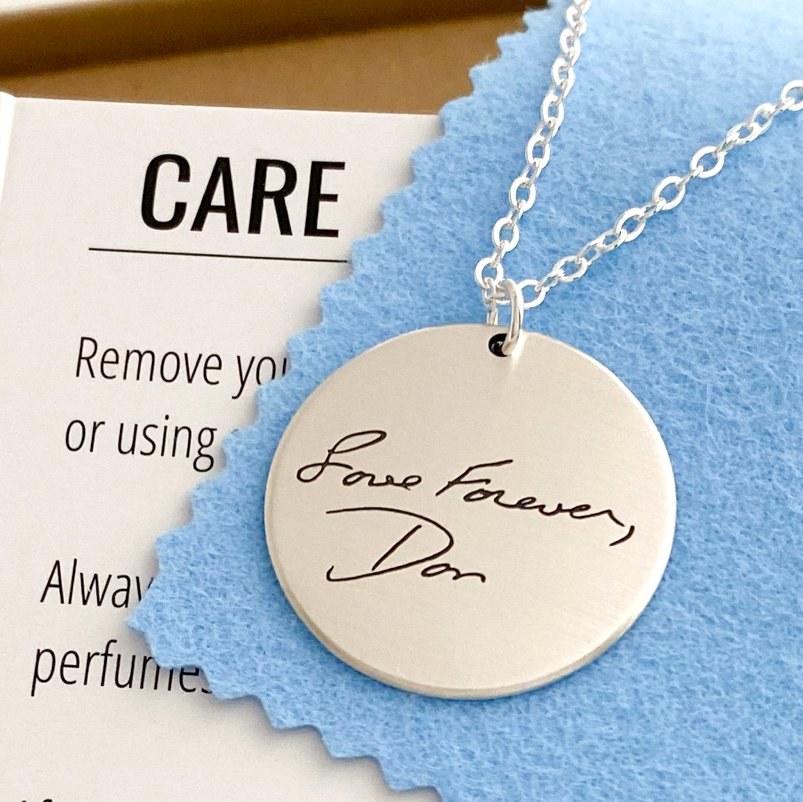 Care Guide - Scripted Jewelry