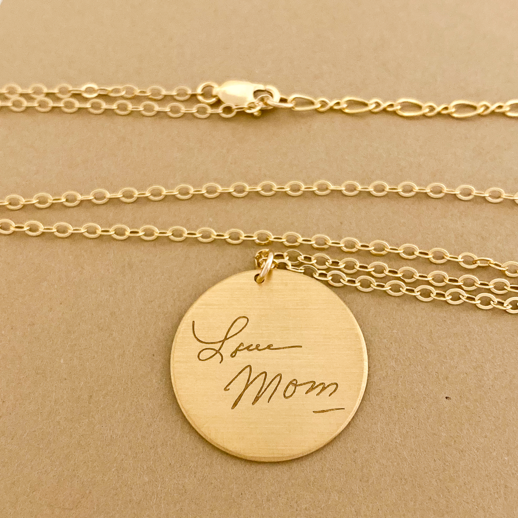 Personalized Necklaces from Scripted Jewelry