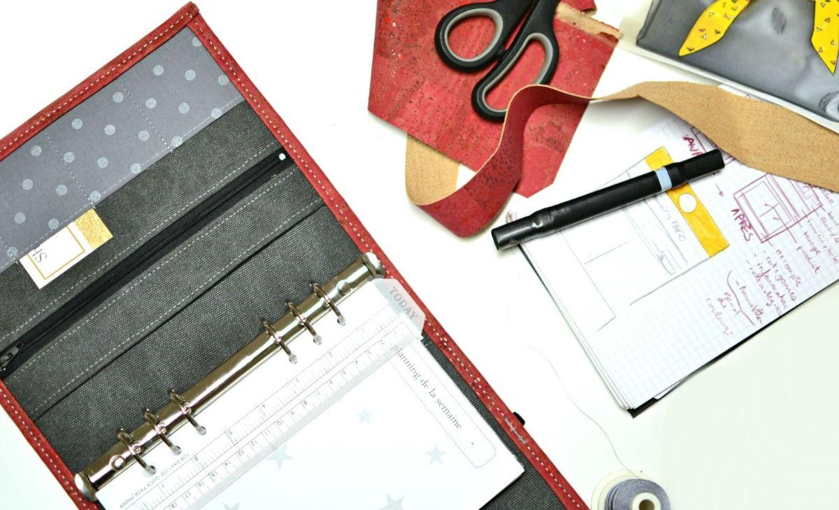 acheter organiseur planner planificateur francais personnalise liberty liege simili cuir