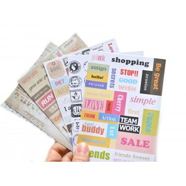 stickers pour planner organiseur agenda hobonichi