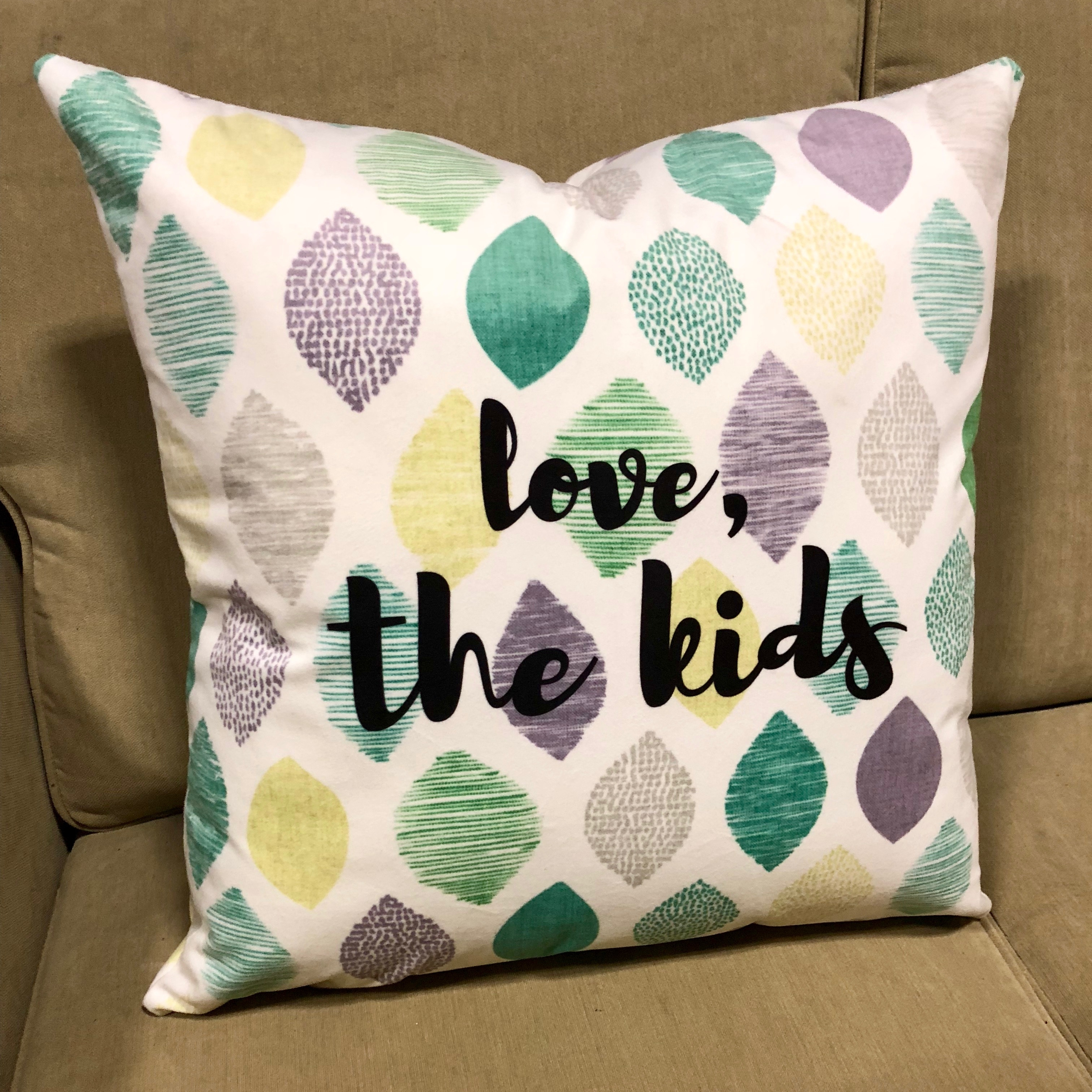 Personalized Printed Décor Pillow