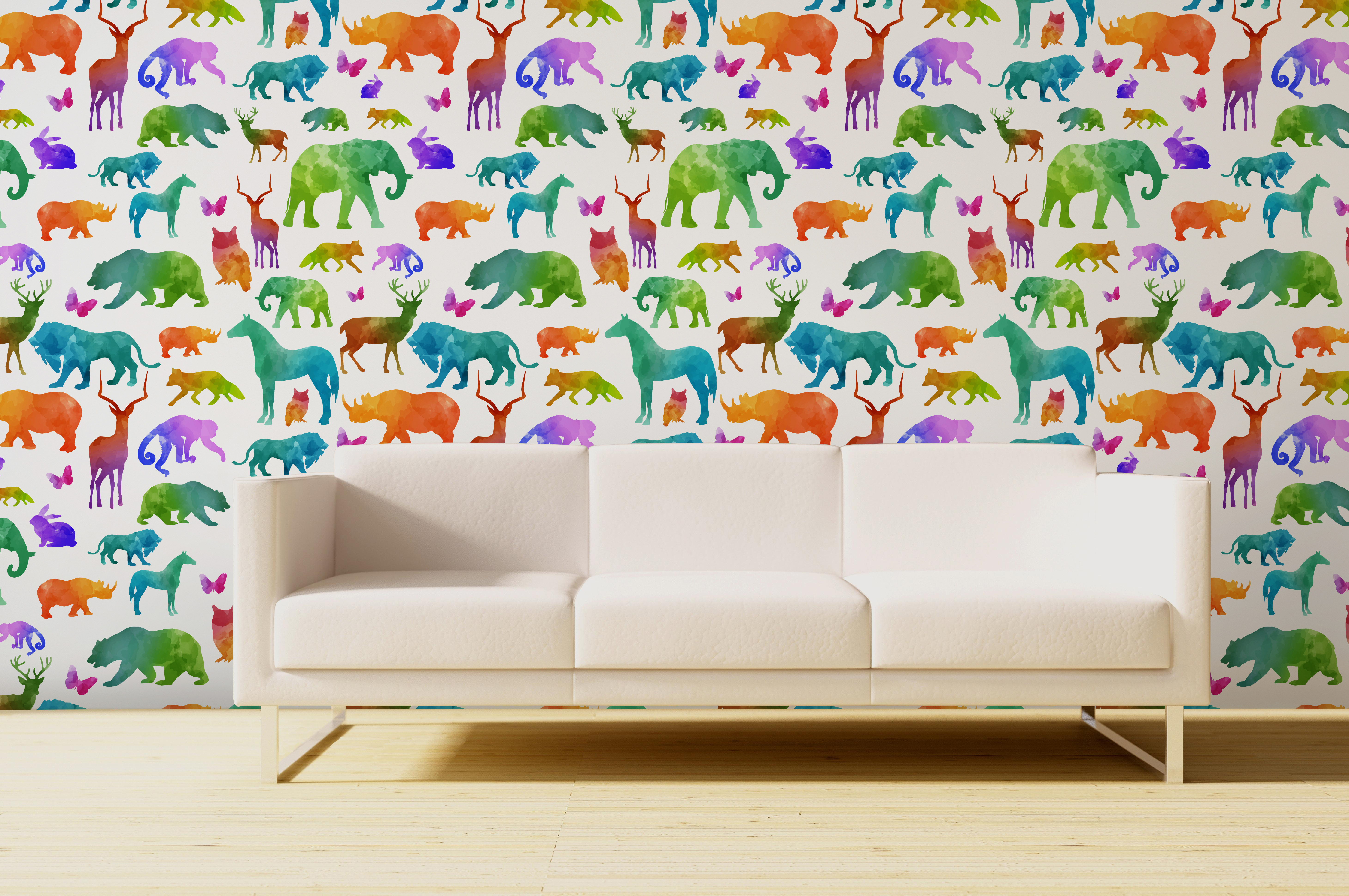 Kids Peel and Stick Wallcoverings