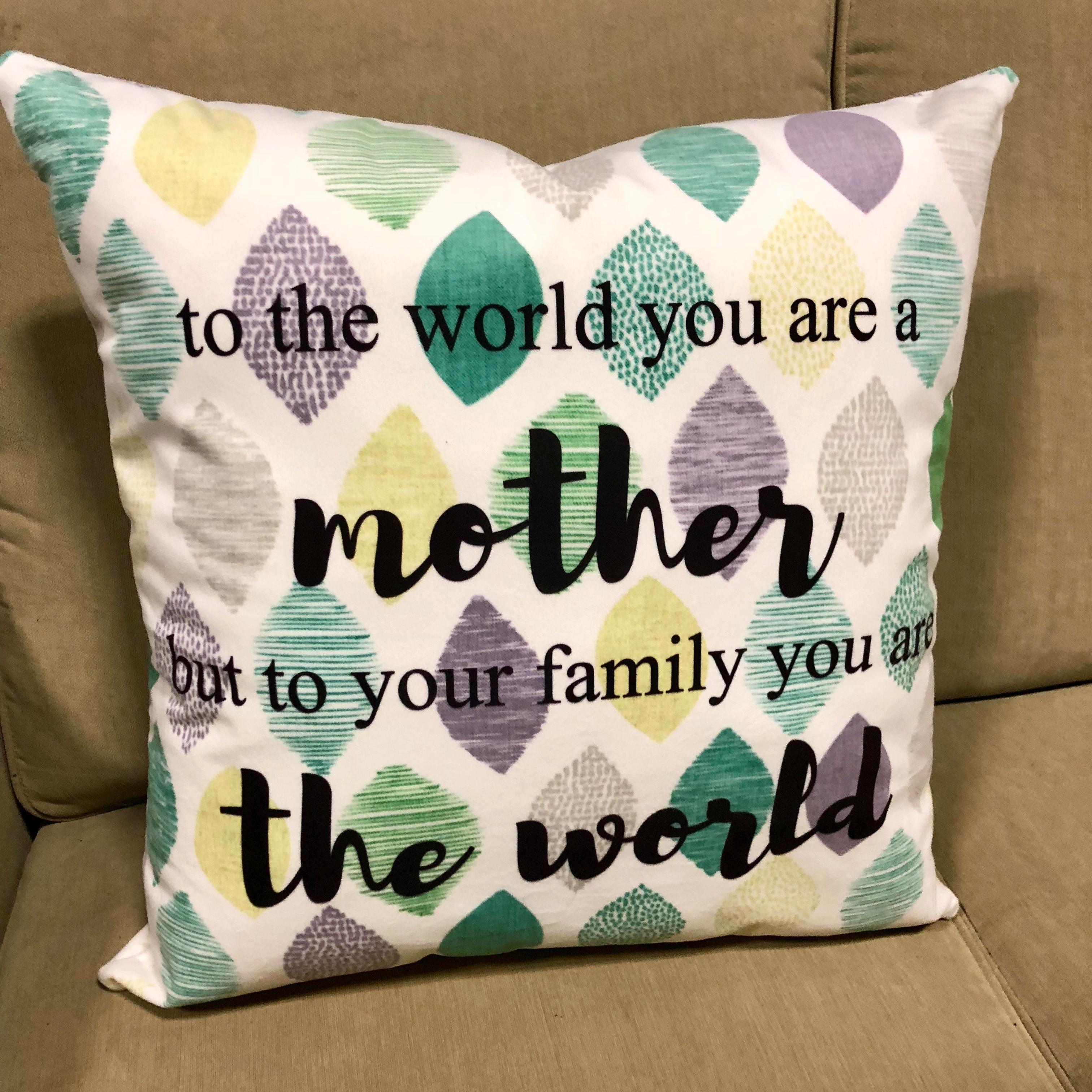 Personalized Printed Pillow