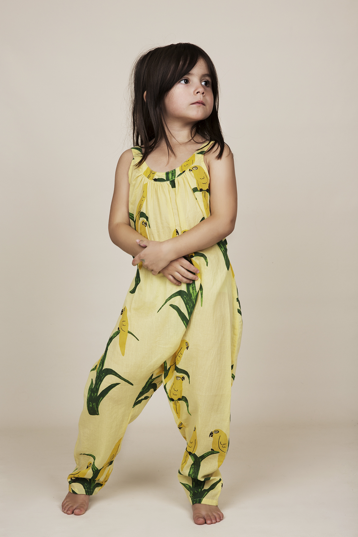 mini rodini parrot jumpsuit