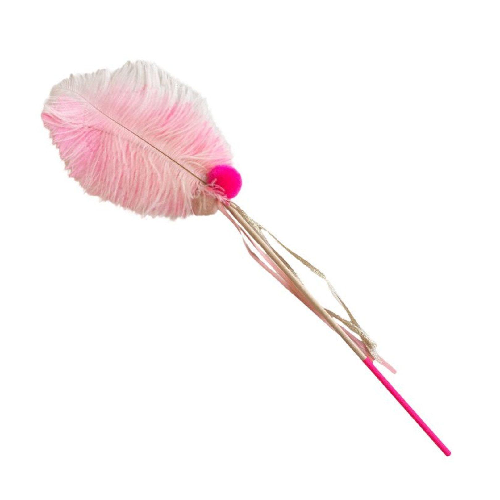 atsuyo et akiko feather pom pom magical wand