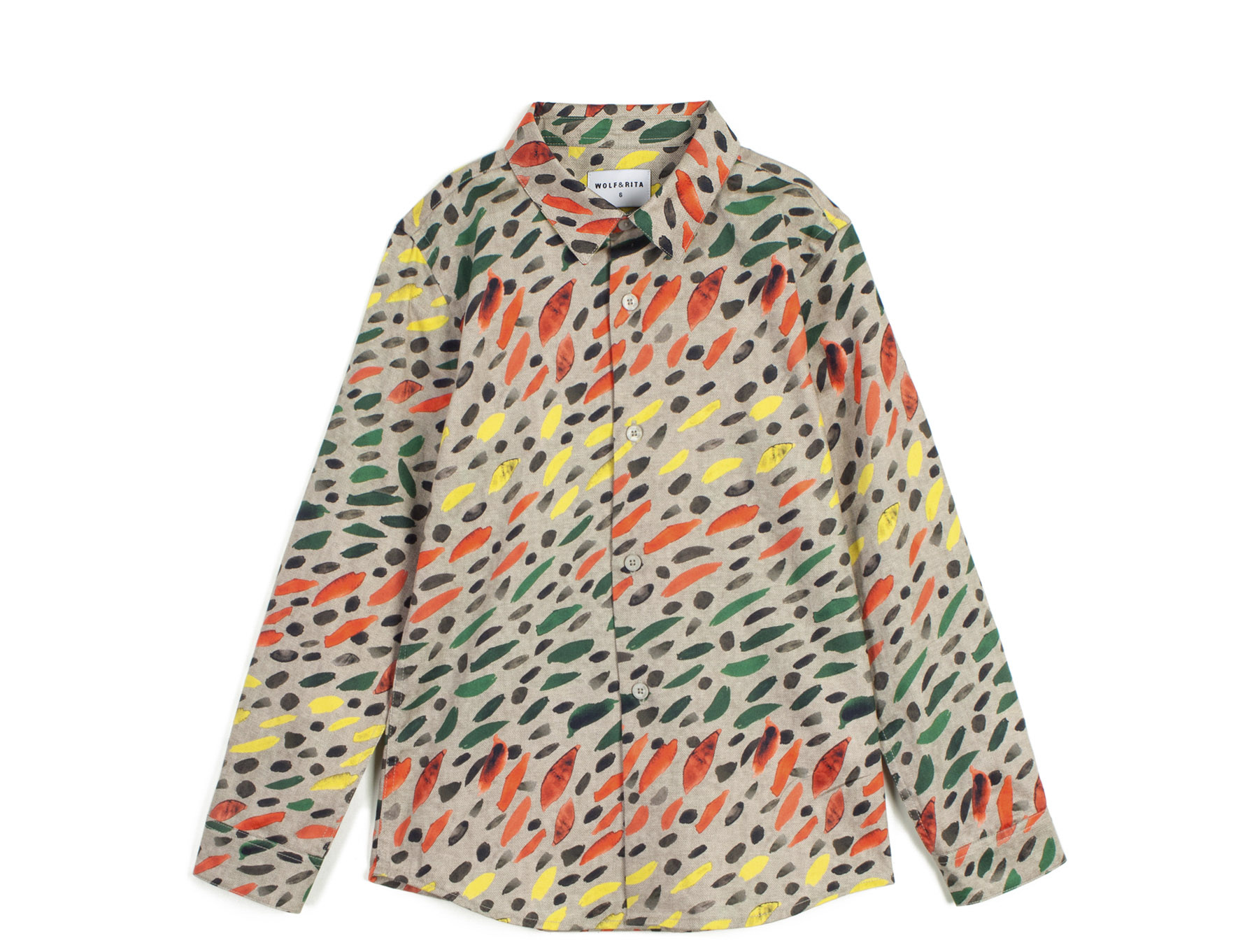 wolf & rita roberto winter grass shirt