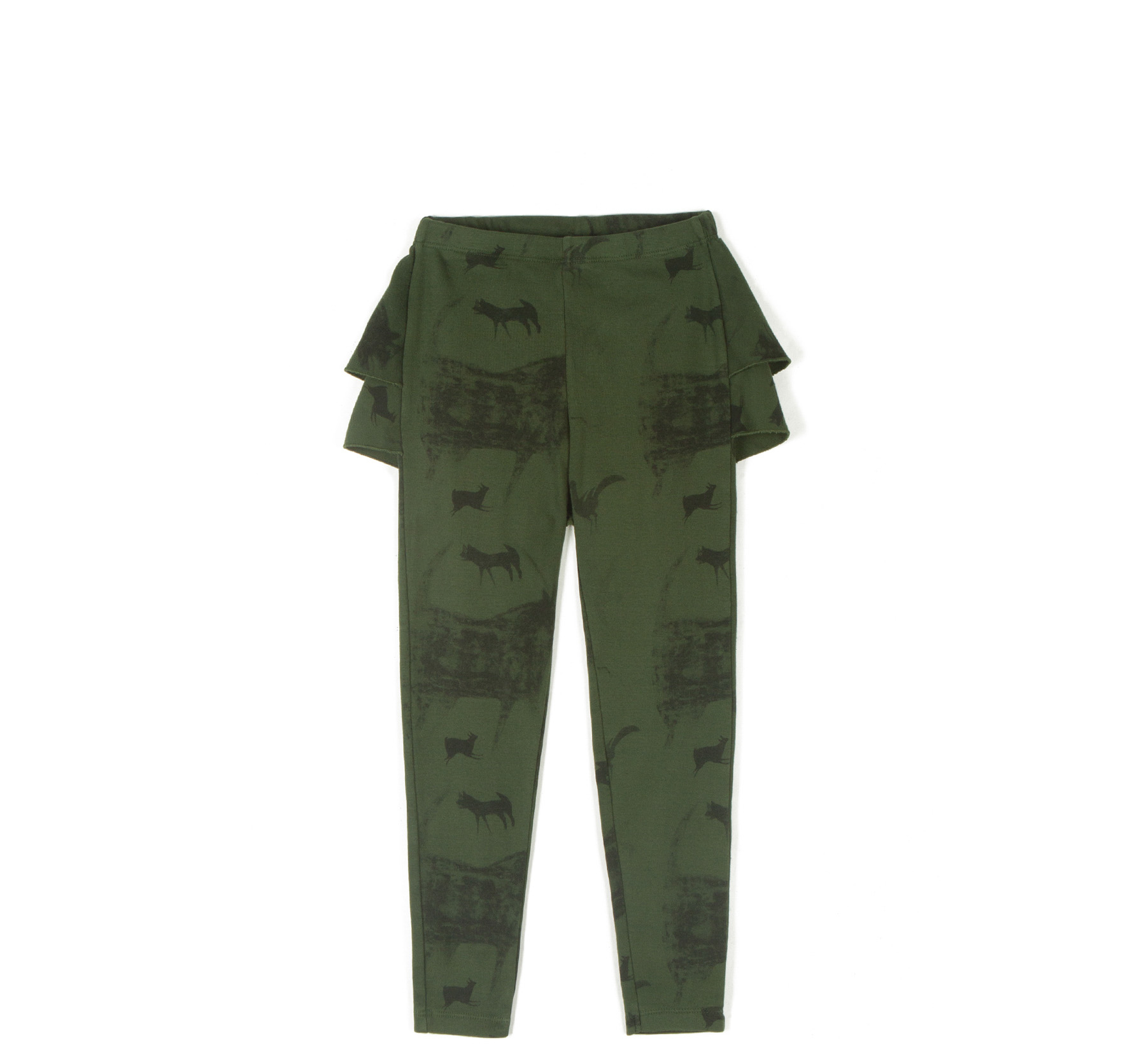 wolf & rita ana beast green leggings