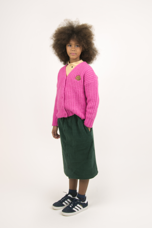 tinycottons chunky knit cardigan