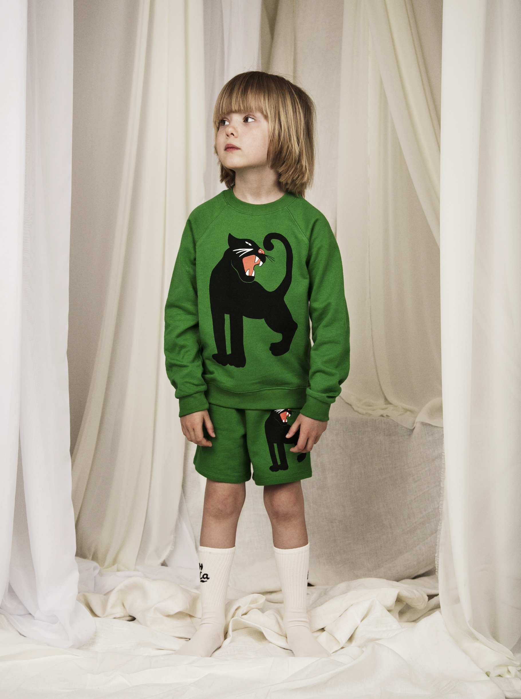 mini rodini panther sweatshirt