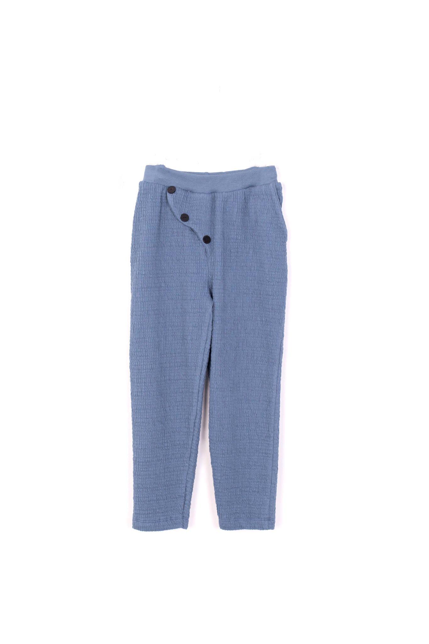 kodomo boston - motoreta boys and girls soft trousers