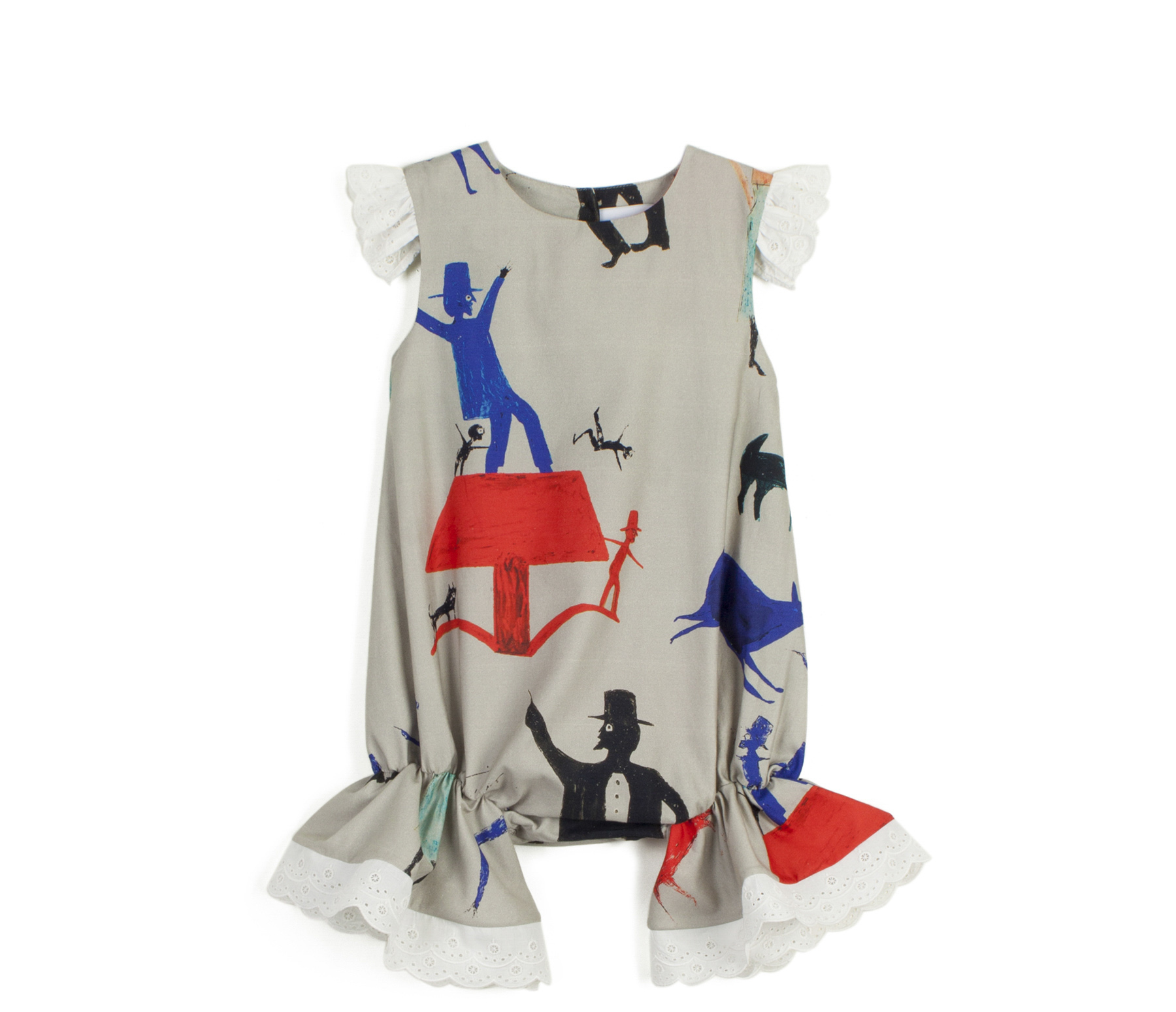 wolf & rita rosalina rabbit and man jumpsuit