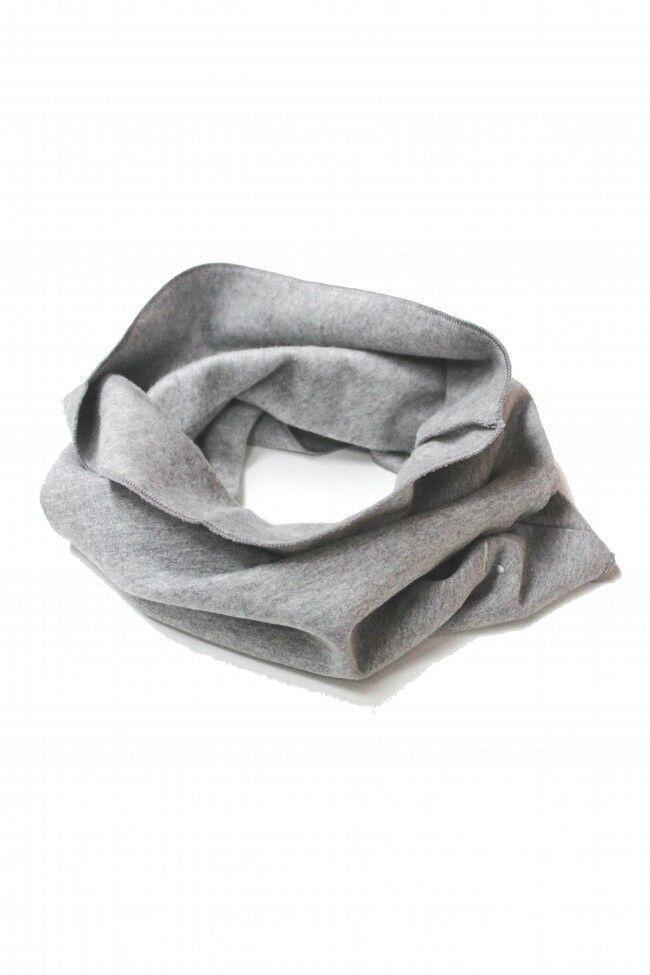 kodomo boston - gray label infinity scarf grey melange