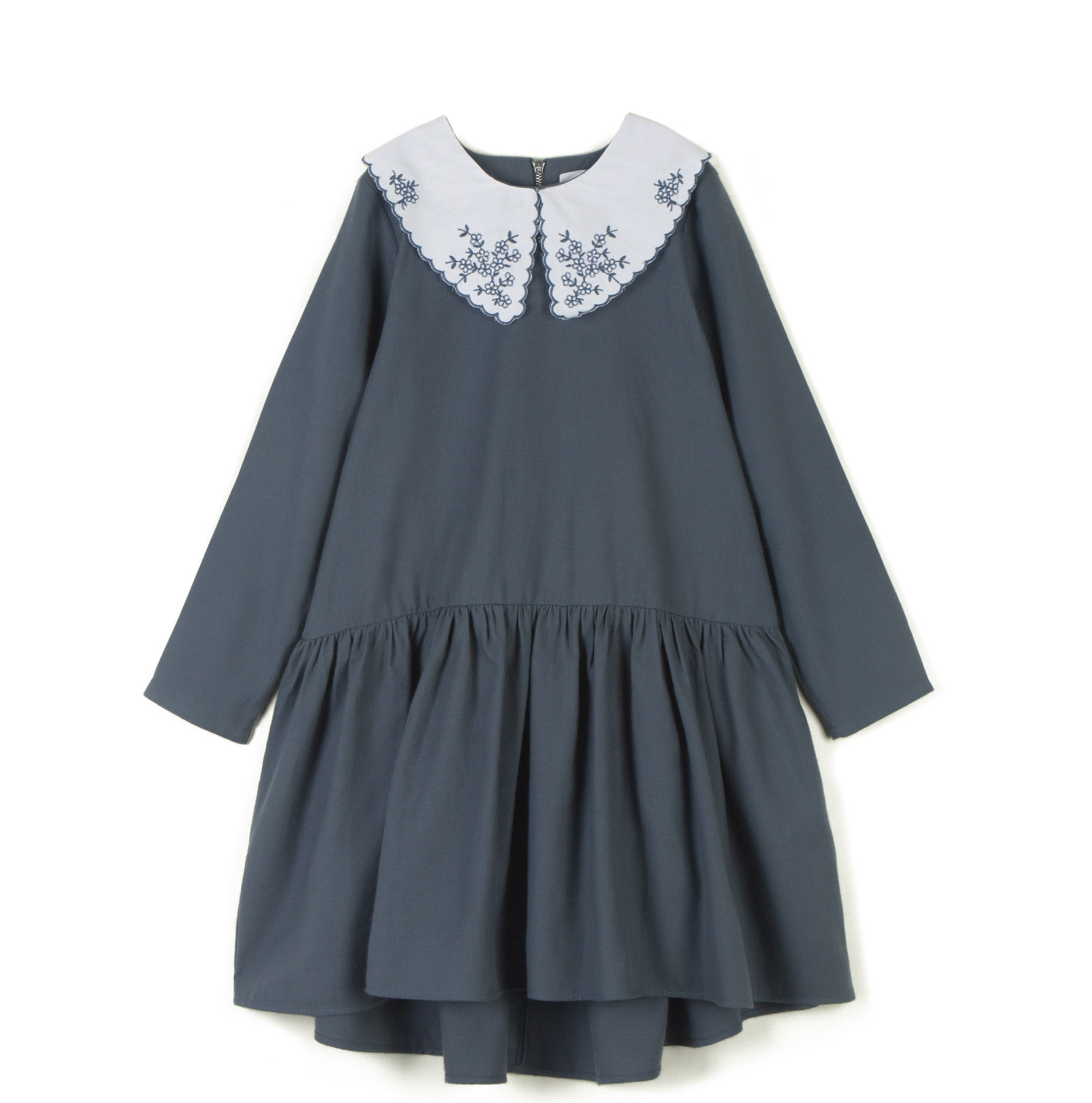 wolf & rita doroteia pale blue dress