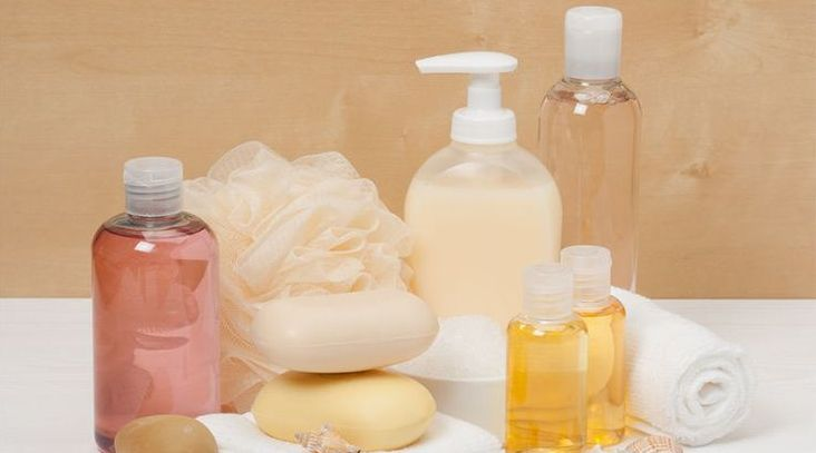 Use the right soaps and oils to help hydrate your skin.