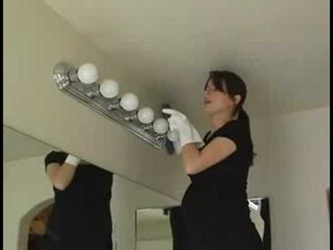 bathroom light fixture cleaning