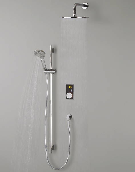 Typical digital shower