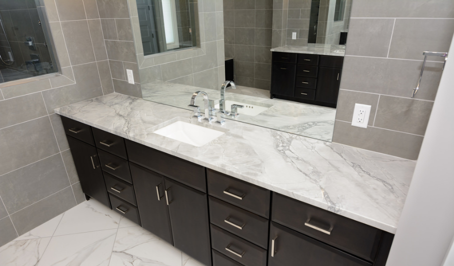 Easy-to-access storage's makes your bathroom easier to navigate.