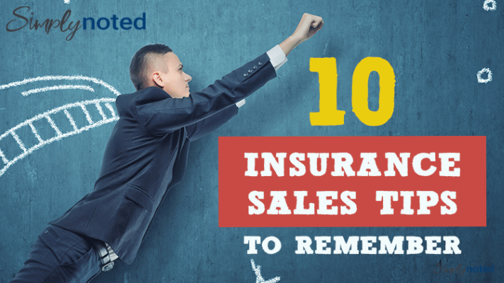 insurance sales tips