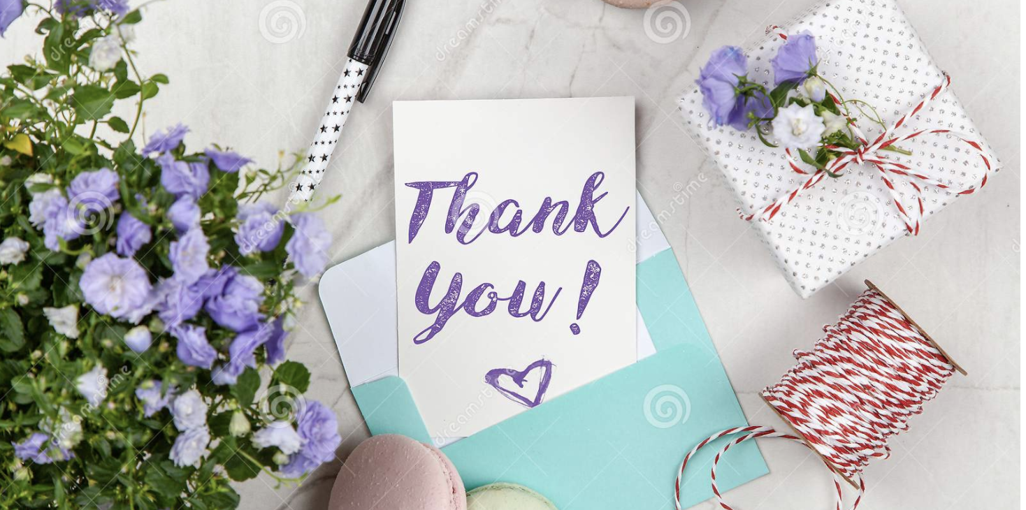 Send business referrals thank you cards