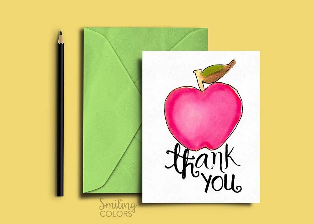 Send your college professor a thank you note or letter.