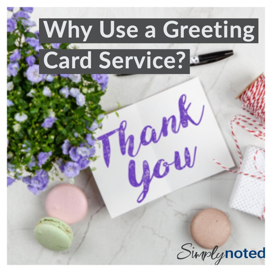 handwritten greeting card service