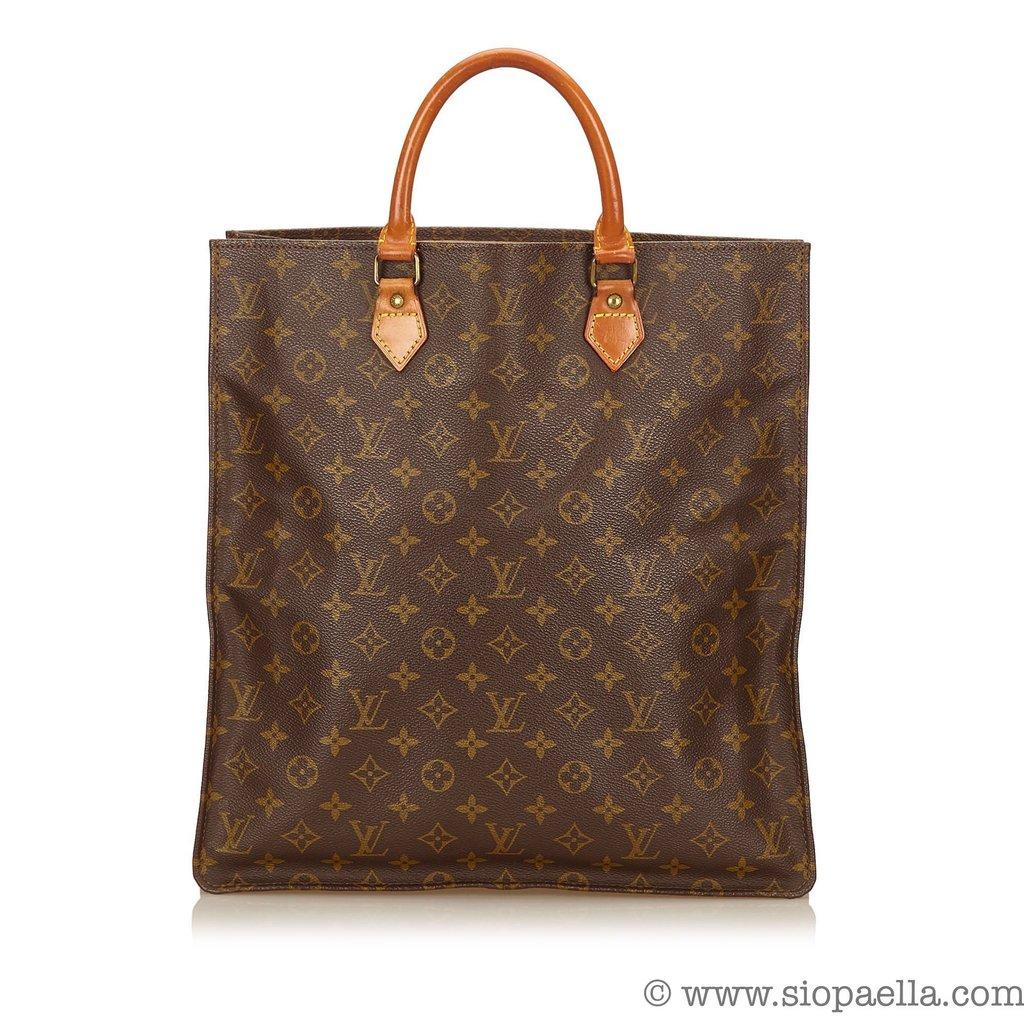 c2a1ee0f3746 Louis Vuitton Monogram Sac Plat