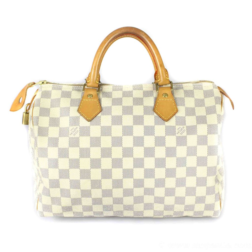4109c3a38 Louis Vuitton Damier Azur Speedy 30