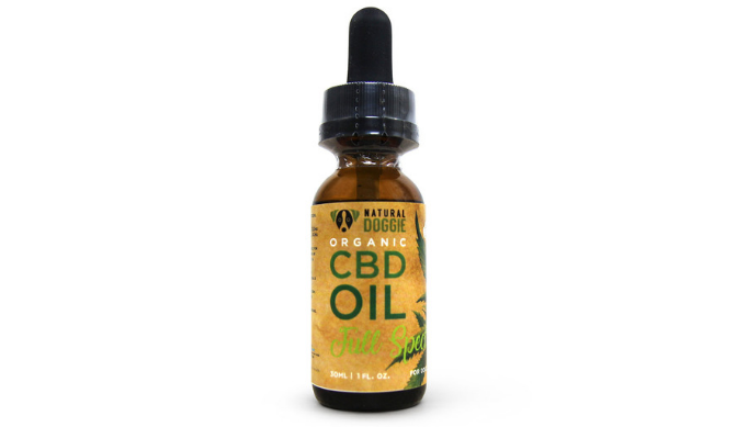 NATURAL DOGGIE NON GMO ALL-ORGANIC CBD OIL FOR DOGS WITH ANXIETY