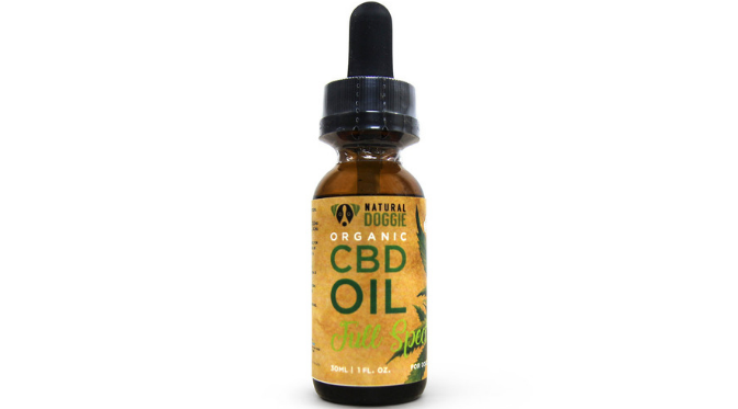Natural Doggie NON GMO All-Organic CBD Oil for dogs