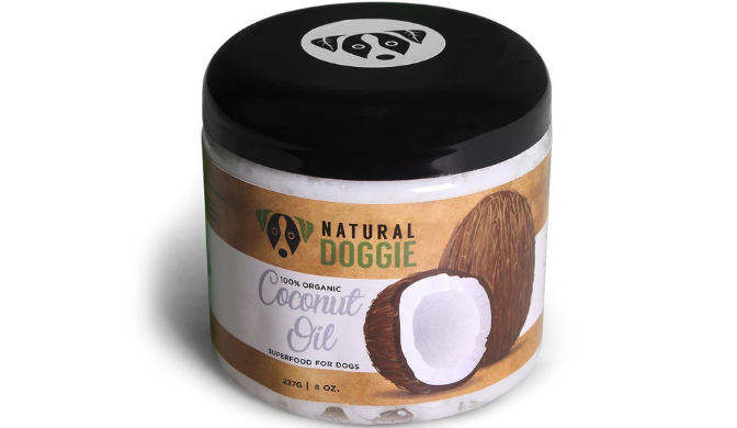 Natural Doggie Organic Coconut Oil for Dogs