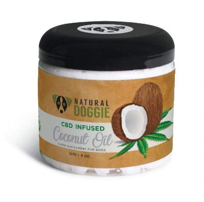 CBD infused coconut oil for dogs anxiety