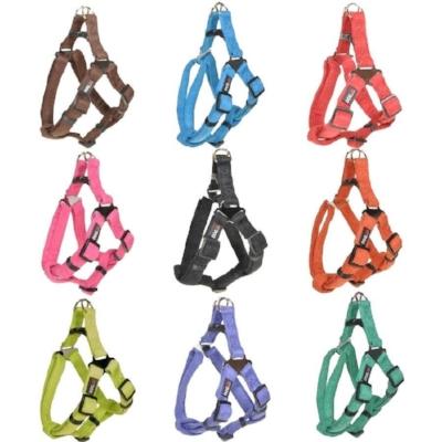 dogline microfiber flat dog harness