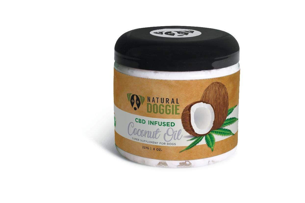 natural doggie cbd infused coconut oil