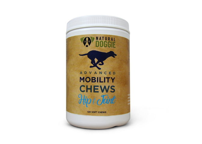 NATURAL DOGGIE ADVANCED MOBILITY CHEWS WITH TUMERIC