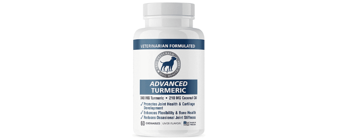Vets Preferred Advanced Turmeric Supplement For Dogs