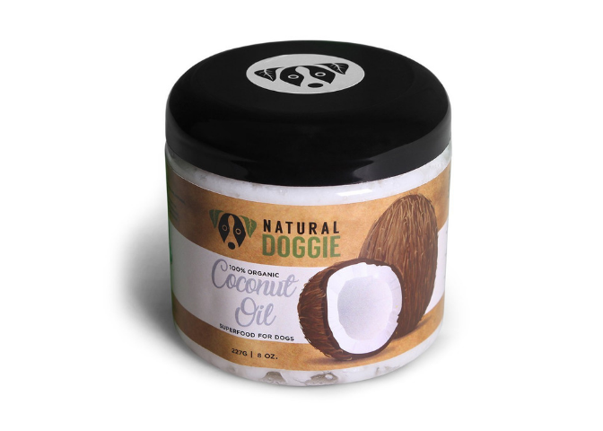 Natural Doggie Coconut oil for dogs