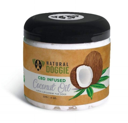 cbd infused coconut oil natural doggie