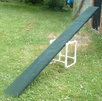 Dog agility course See-Saw