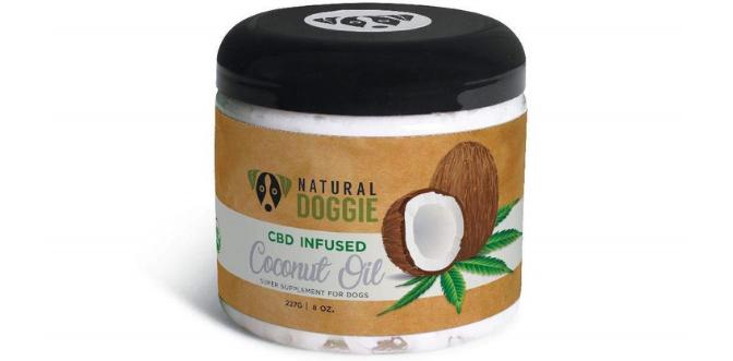 Natural Doggie Hemp CBD Infused Virgin Coconut Oil