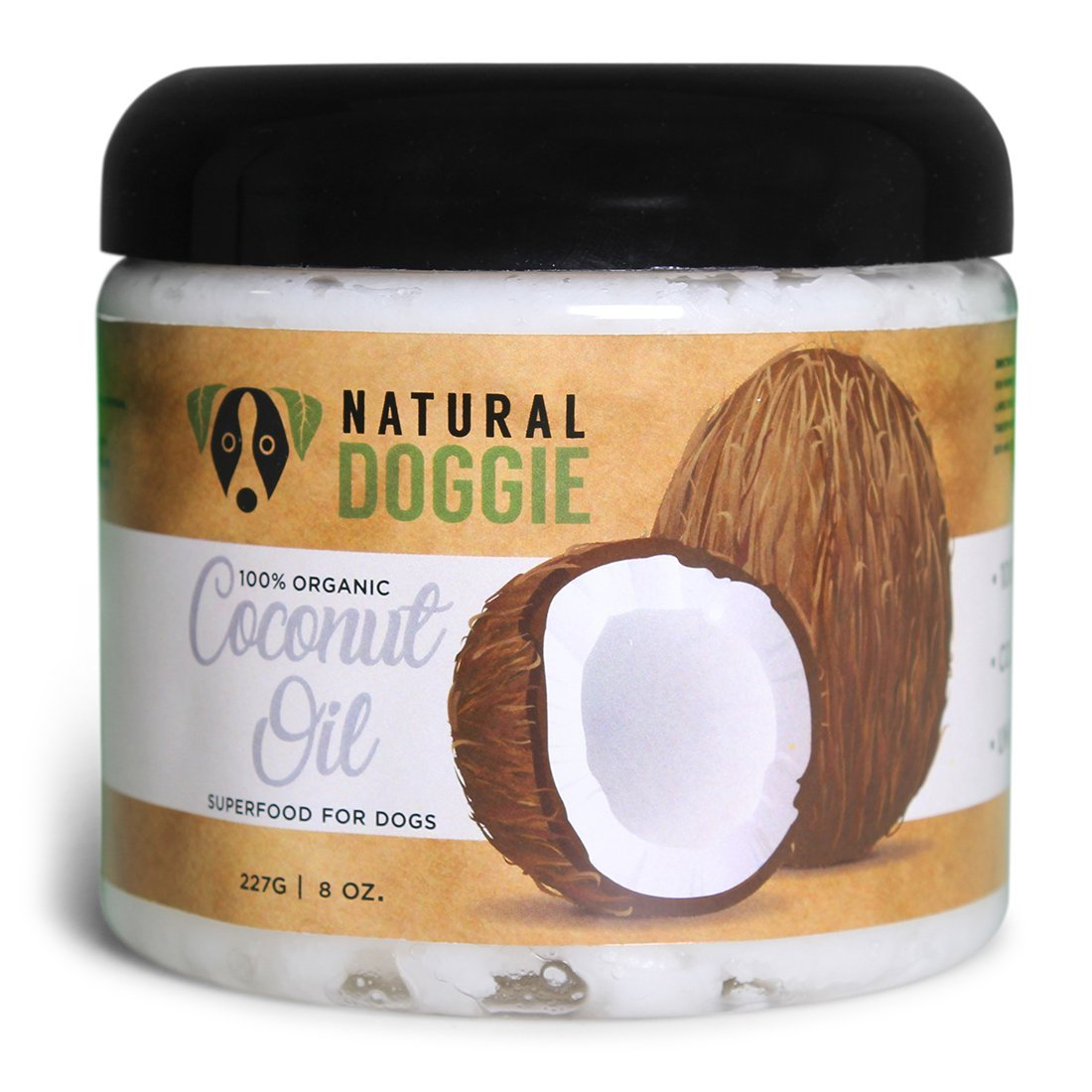 Coconut oil is a great way to help with dog skin allergies