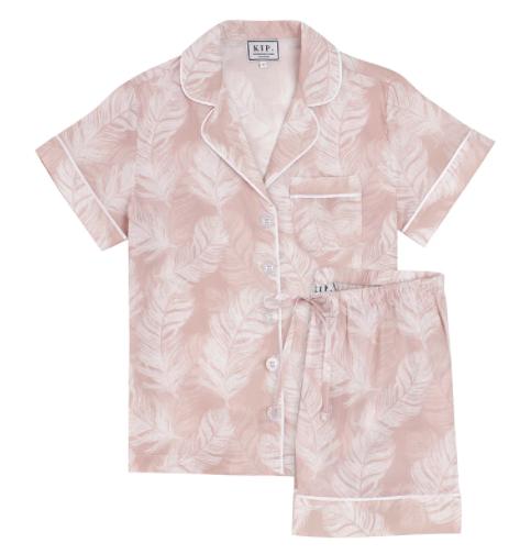 Premium Cotton Nightshirt in Soft Rose