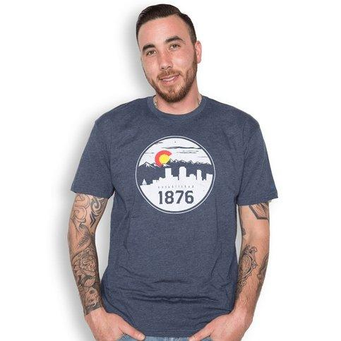 The 1876 Original Tee - Men's Colorado T-Shirt - Colorado Christmas Gift Guide