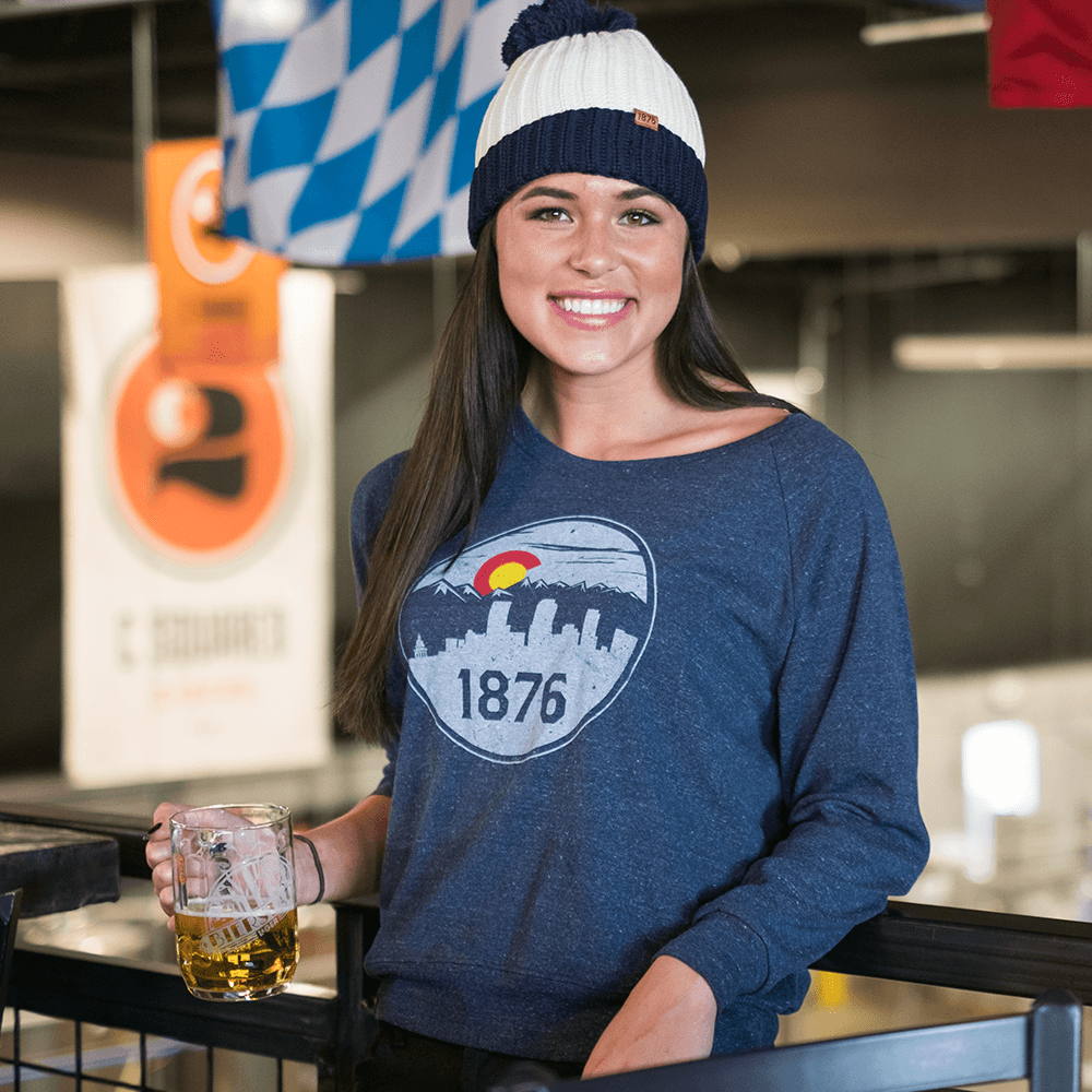 1876 Apparel - 1876 Trophy Tee - Luxury, Quality Colorado Clothing