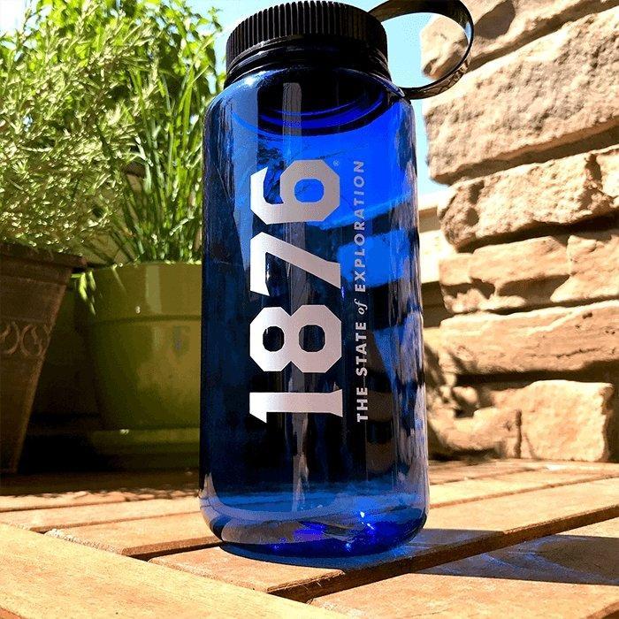 The 1876 Water Bottle - Colorado Active Gear - Colorado Christmas Gift Guide