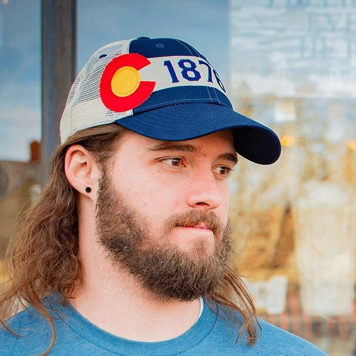 The 1876 Standard Hat - Colorado Flag Hat - Christmas Gift Guide for Men