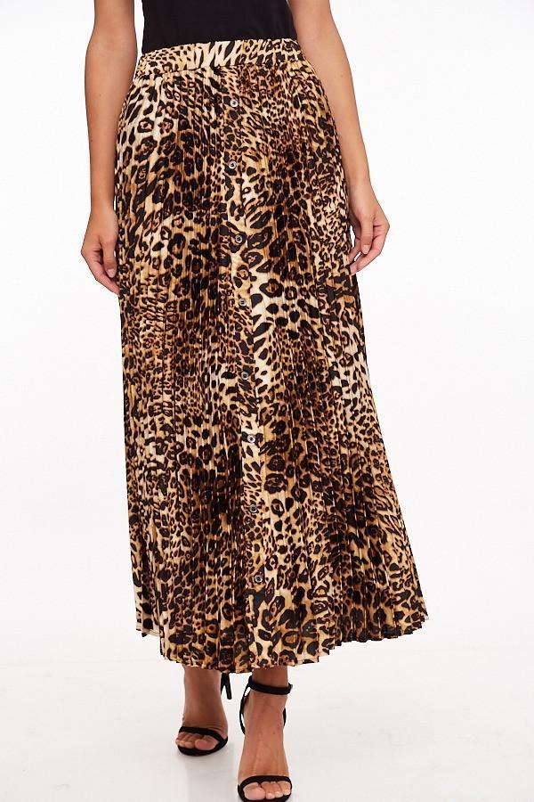 Lennox Leopard Skirt