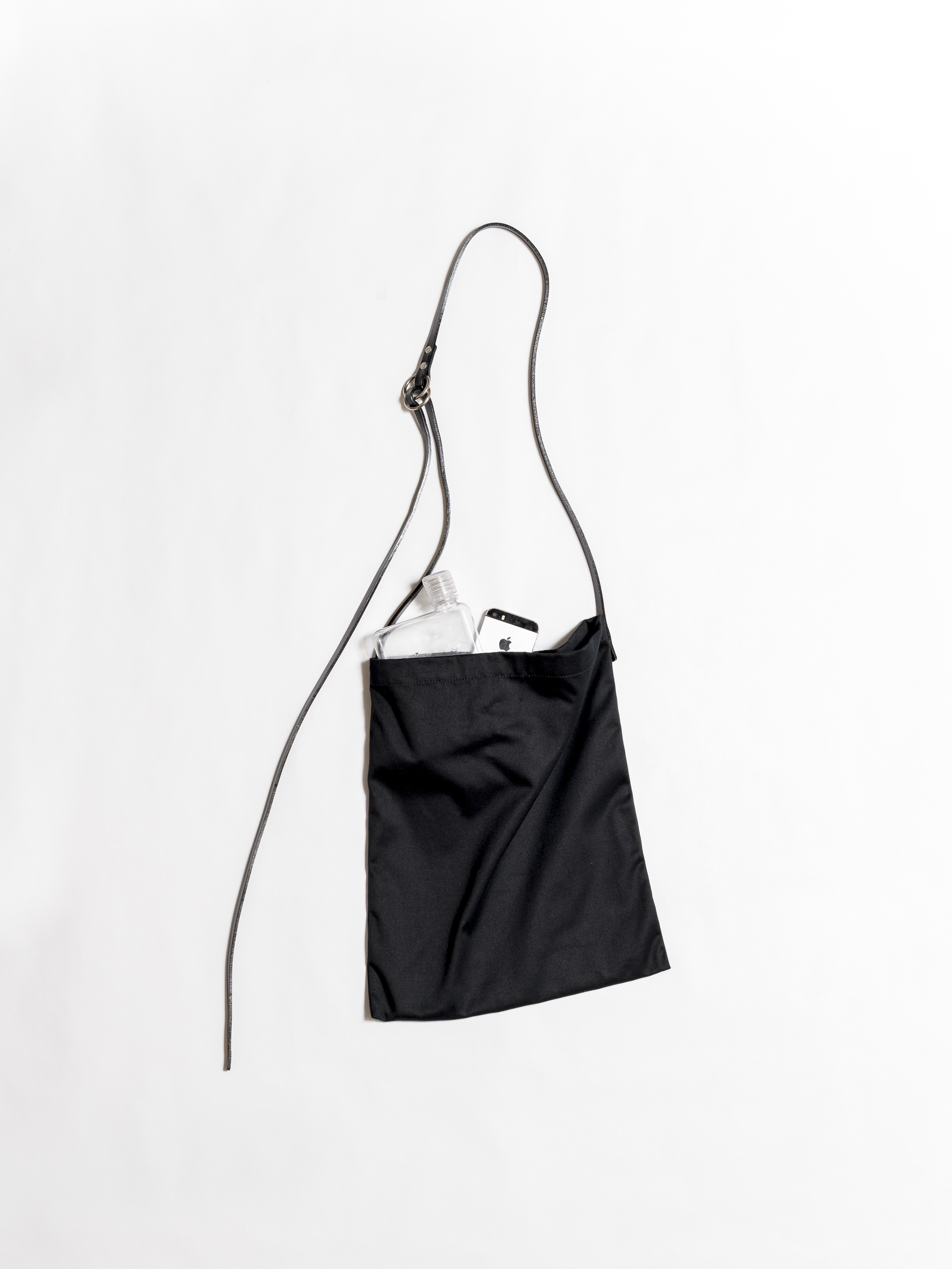 Shoulder Bag with Leather Strap