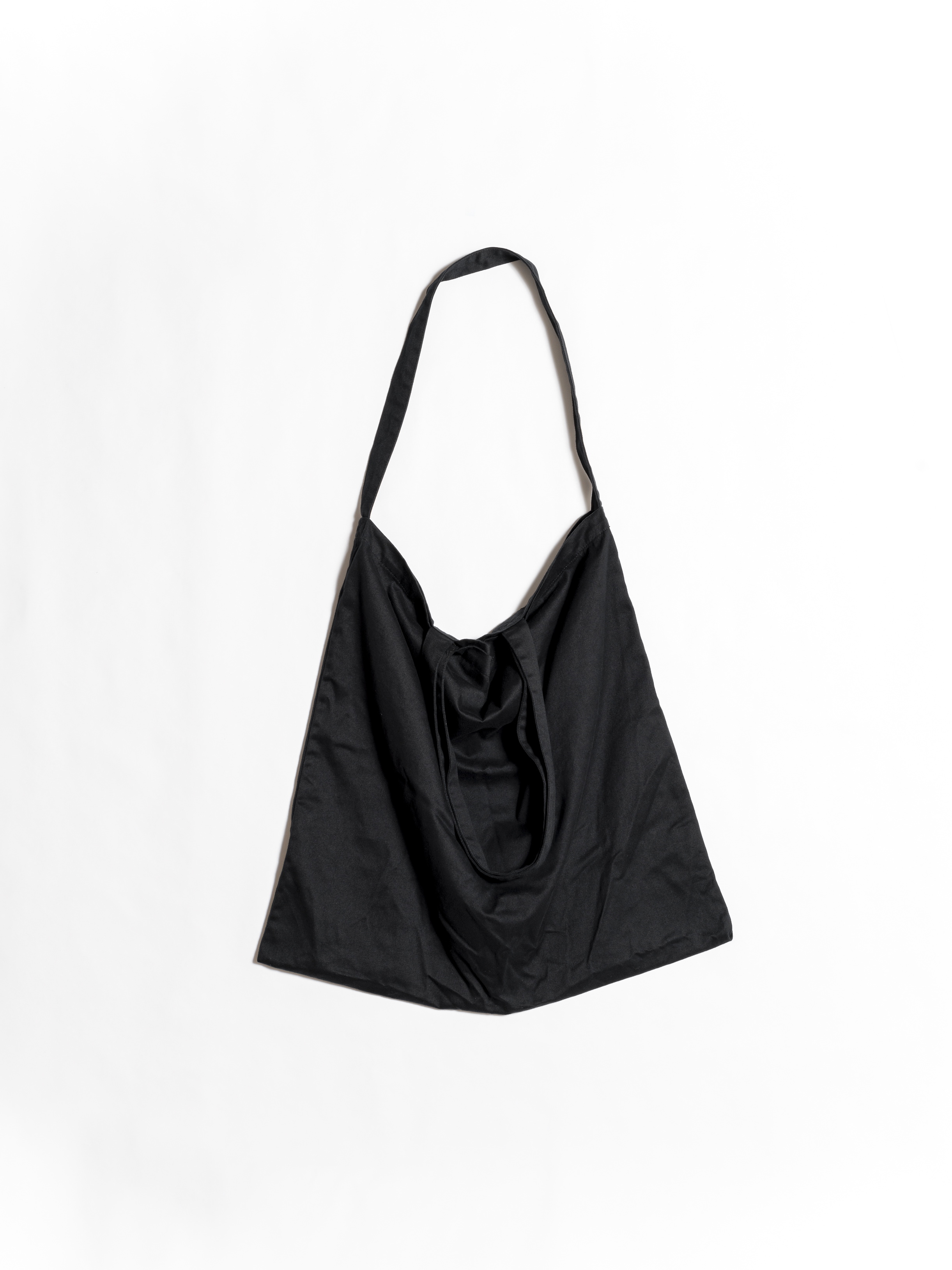 Oversized Cotton Nylon 2 Ways Tote
