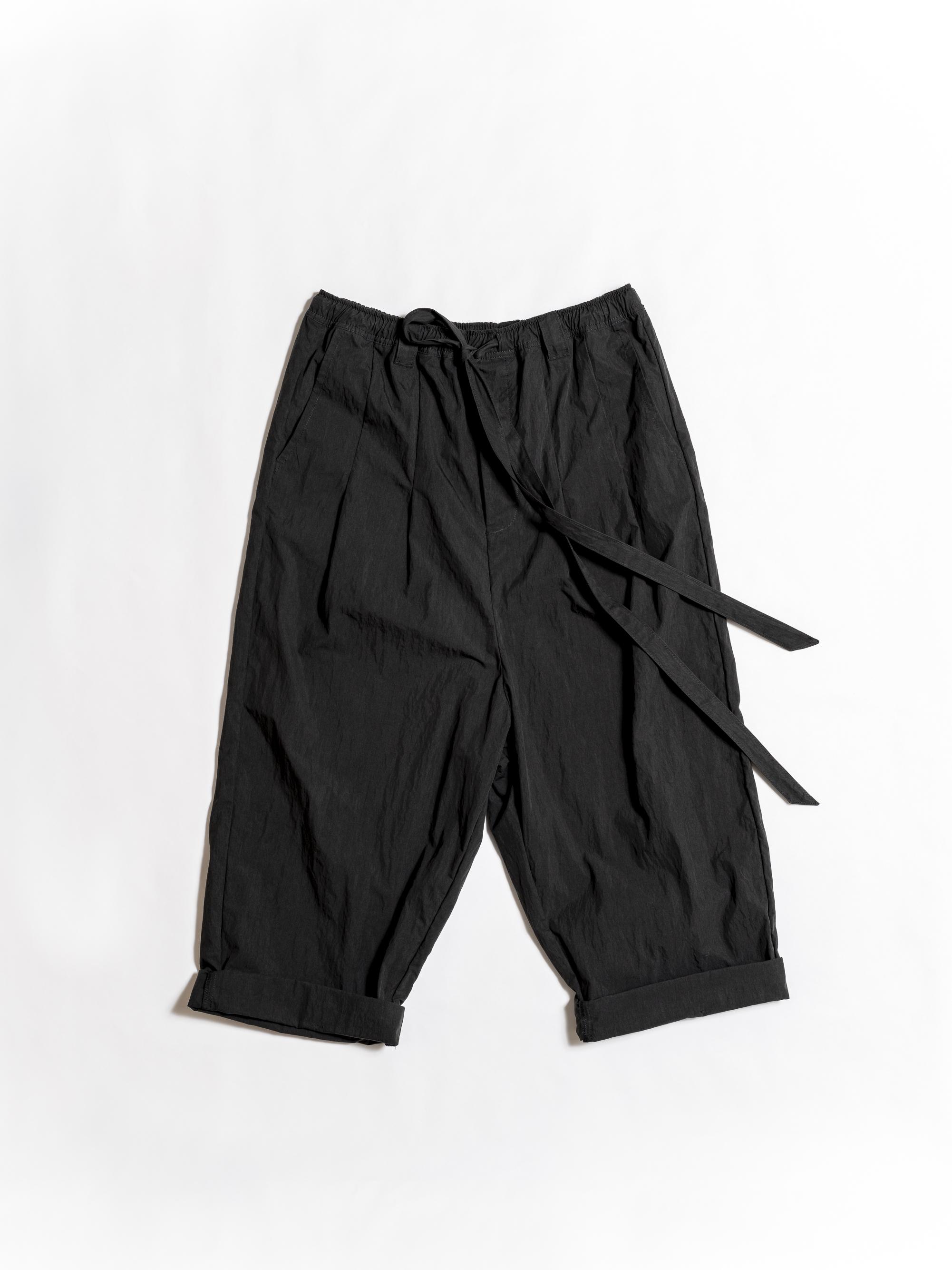 Taichi Cotton Nylon Pants - Black