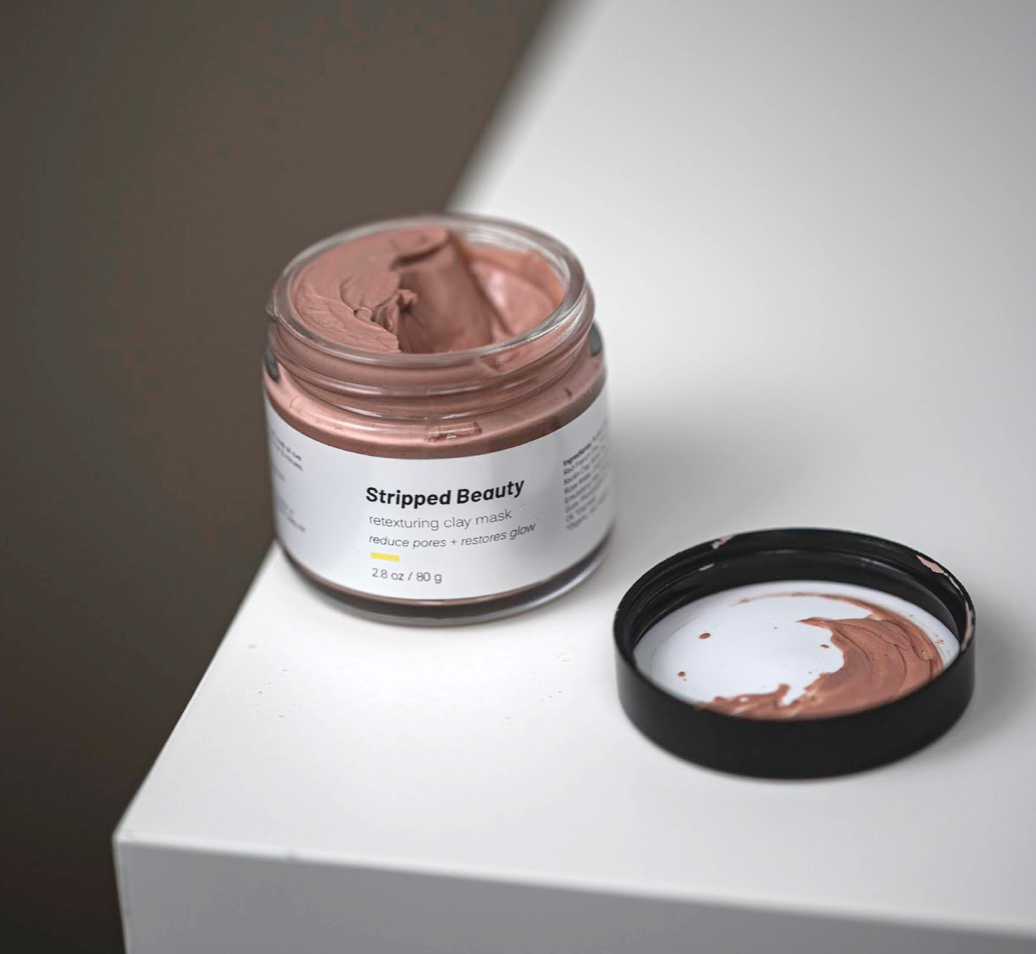 Stripped Beauty: Retexturing Clay Mask
